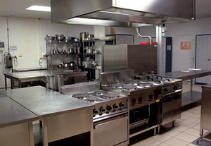 Commercial kitchen cooking equipment