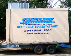 Refrigerated mobile units maintenance and emergency repairs