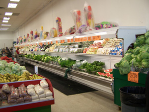 Coldstat Refrigeration's New Equipment Installations - Full Open-Air Vegetable Display Case