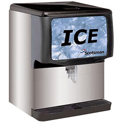 Scotsman Ice Machine with Dispenser