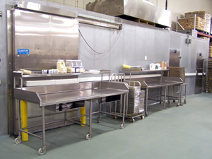 Food production and distribution equipment